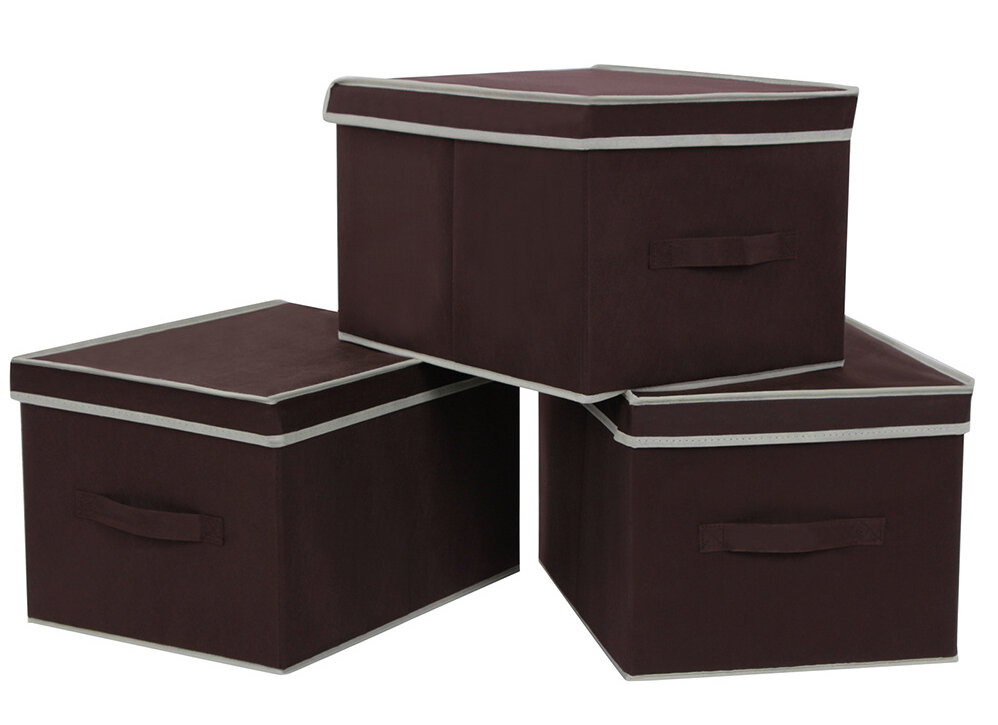 Songmics Foldable Storage Box With Lid U0026 Reviews | Wayfair