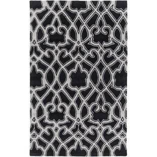 Buying Felicia Black/Light Gray Area Rug ByDarby Home Co