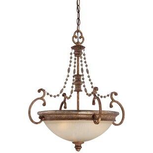 Minka Lavery Cornerstone 3-Light Bowl Pendant