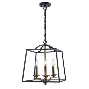 Alcott Hill Crook 3-Light Lantern Pendant