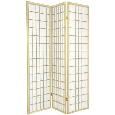 Bungalow Rose Leiva Room Divider Color: Ivory, Number of Panels: 3