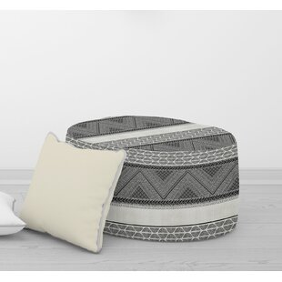 ARTISAN TRIBAL Pouf By Becky Bailey by Bungalow Rose