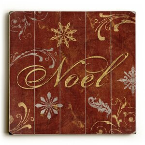 Noel Graphic Art Plaque