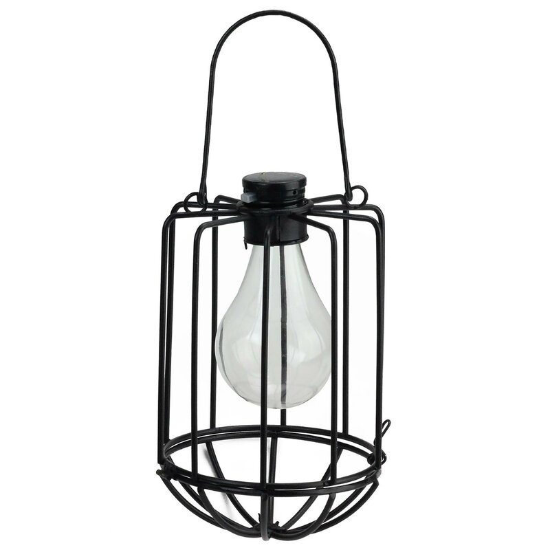 Chessani Cylindrical Solar Ed 1 Light Outdoor Led Hanging Lantern Allmodern