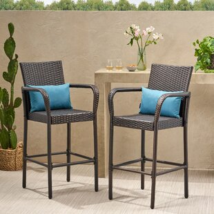 Super Lansdale 30 Patio Bar Stool Set Of 2 Alphanode Cool Chair Designs And Ideas Alphanodeonline