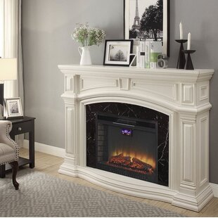 Wynne Electric Fireplace by Alcott Hill