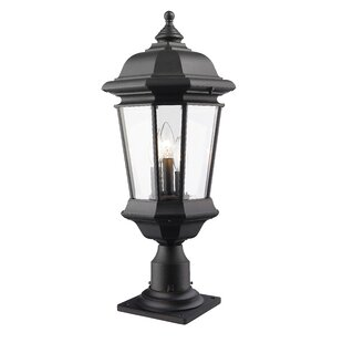 Fleur De Lis Living Bibb 3-Light Pier Mount Light