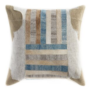 Chu Patchwork Faux Fur Throw Pillow