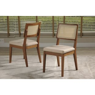 Tatom Upholstered Dining Chair (Set of 2) Union Rustic