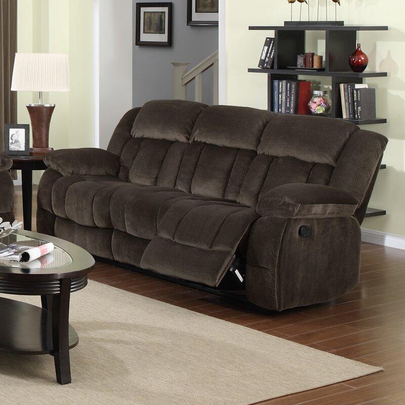 Teddy Bear Reclining Sofa
