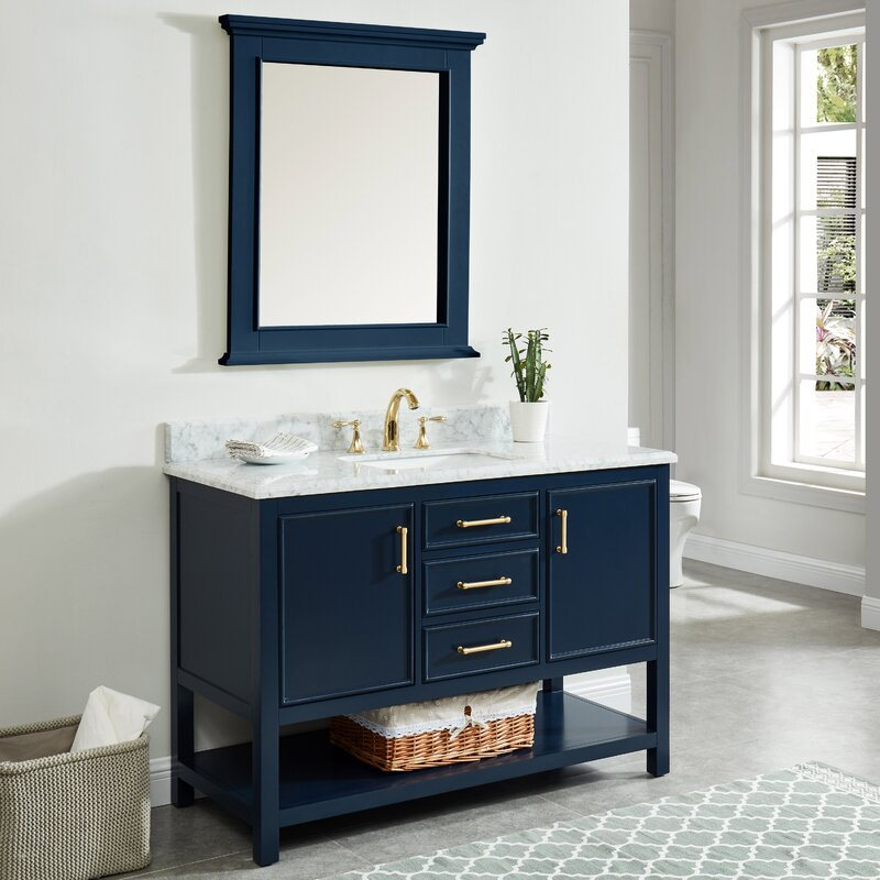 "Patrina 49"" Single Bathroom Vanity Set"