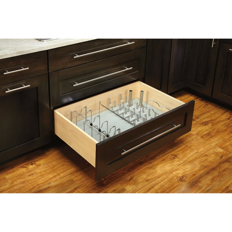 Rev A Shelf Lid Organizer Pull Out