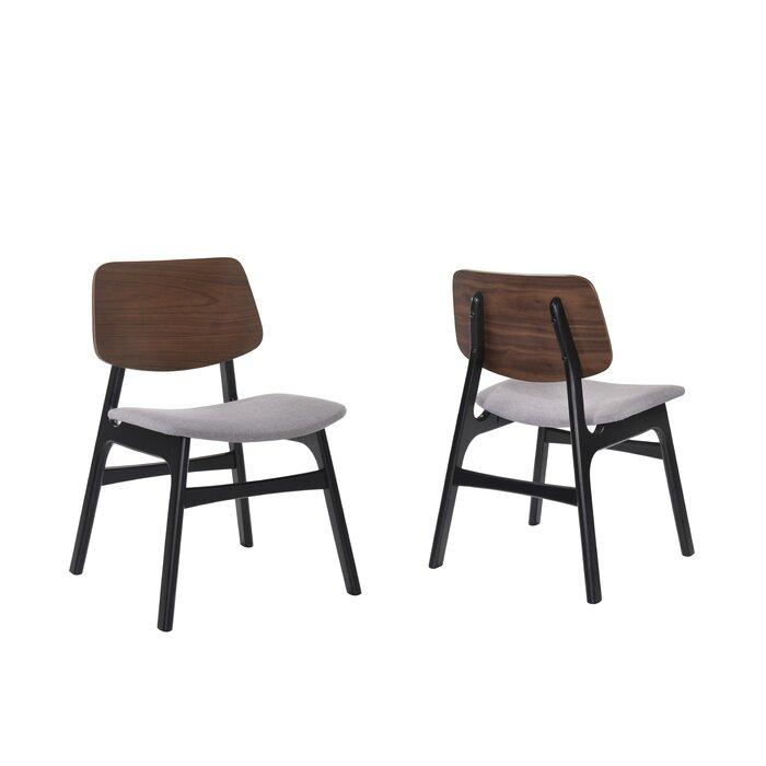 Surprising Paityn Modern Curved Back Upholstered Dining Chair Inzonedesignstudio Interior Chair Design Inzonedesignstudiocom