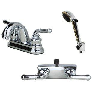 Centerset Bathroom Faucet ByLaguna Brass