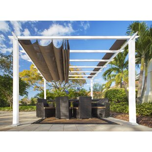 Aspen 11.5 Ft. W x 11.5 Ft. D Aluminum Pergola by Paragon-Outdoor