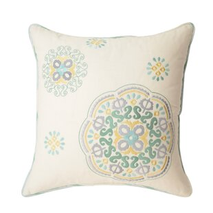 Astrid 100% Cotton Throw Pillow