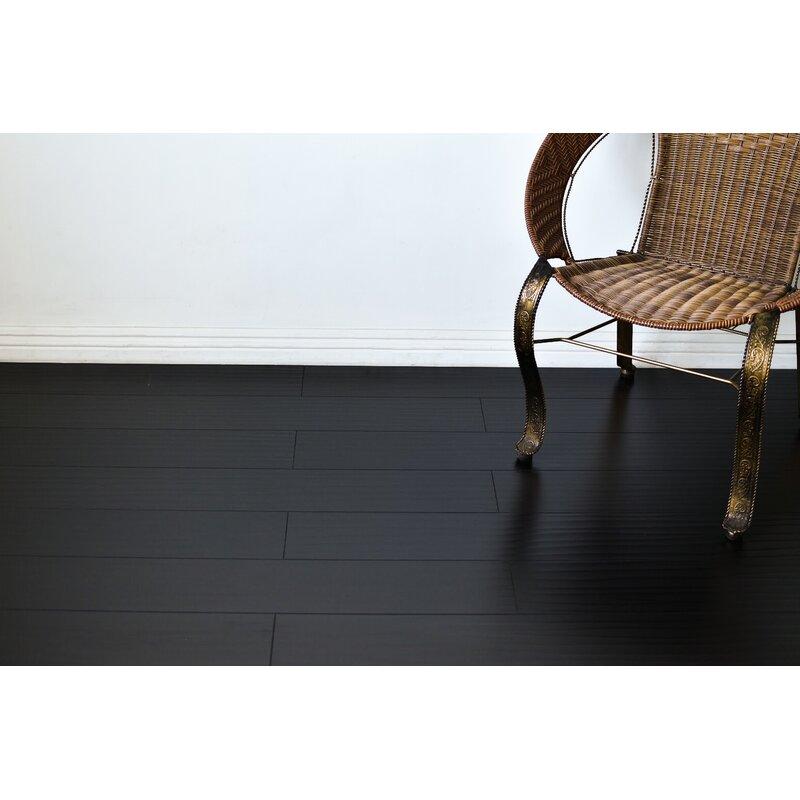 Serradon Tyrell 7 X 48 X 12mm Oak Laminate Flooring In Black