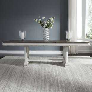 Jersey Trestle Extendable Dining Table Ophelia & Co.
