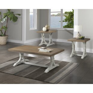 Schutz 3 Piece Coffee Table Set