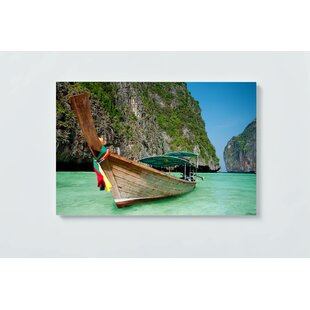 Thailand Motif Magnetic Wall Mounted Cork Board By Beachcrest Home