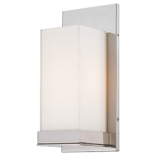 Read Reviews 1-Light Wall Sconce By George Kovacs by Minka