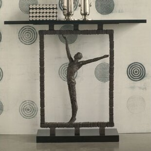 Draw Attention Reach out of the Box Console Table by Global Views