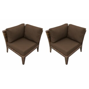 Shop For Manhattan Patio Chair with Cushions (Set of 2) Price Check