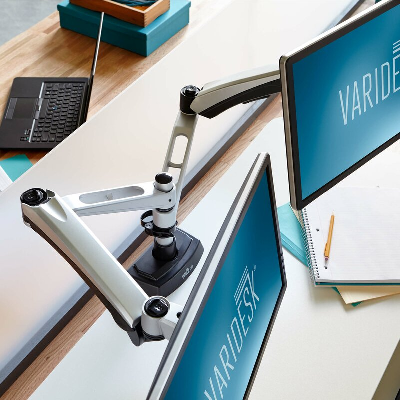 Dual Monitor Arm Adjustable 2 Screen Desk Mount