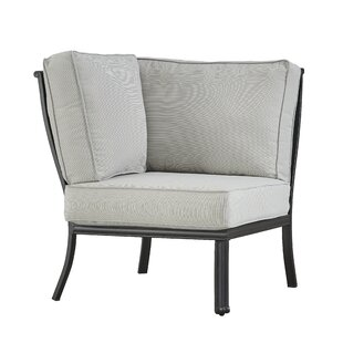 Greyleigh Premont Corner Chair with Cushi..