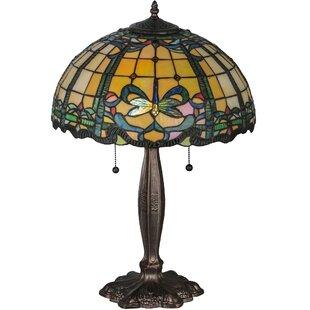 Dragonfly Trellis 24 Table Lamp