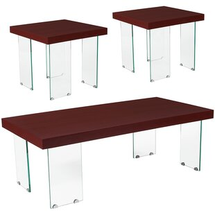 Jago 3 Piece Coffee Table Set
