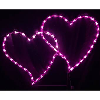 Amscan Conversation Heart LED String Lights 70 Inches