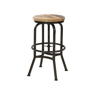 Nasim Height Adjustable Bar Stool By Williston Forge