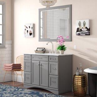 Jonina 48 inch  Single Bathroom Vanity Set with Mirror