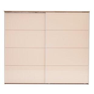 Collision 2 Door Sliding Corner Wardrobe By Ebern Designs