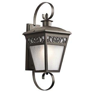 Big Save Viverette 1-Light Outdoor Wall Lantern By One Allium Way