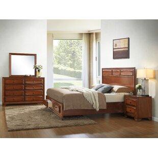 Winston Porter Beagan Platform Configurable Bedroom Set