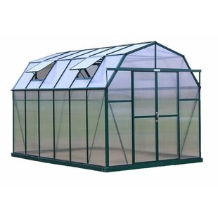 Grandio Greenhouses Elite Heavy-Duty Aluminum 8 Ft. W x 12 Ft. D Greenhouse