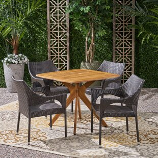 Femke 5 Piece Dining Set by Wrought Studio