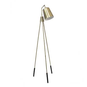 Corrigan Studio Madill 59 Swing Arm Floor Lamp Reviews Wayfair