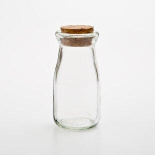 Glass Milk Bottle Vase Wayfair