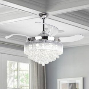 Retractable Blades Ceiling Fans You\'ll Love in 2019 | Wayfair