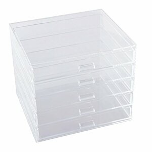 Five Drawers Cosmetic Organizer