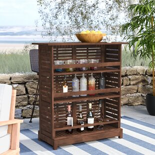 Twana Outdoor Wood Bar