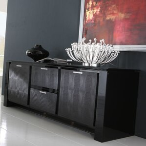 Diamond Dining Buffet Table by Rossetto USA