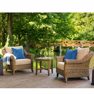 Bahamas Patio Chair Seating Group with Cushions by Canora Grey