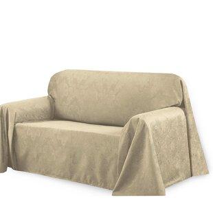 Bella Luna Medallion Box Cushion Sofa Slipcover
