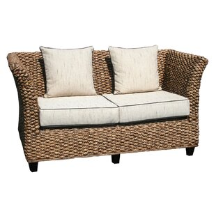 Chic Teak Water Hyacinth Rome Loveseat
