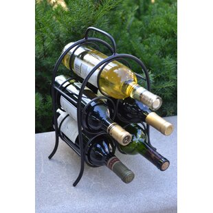 Winston Porter Leeland 5 Bottle Tabletop Wine Rack