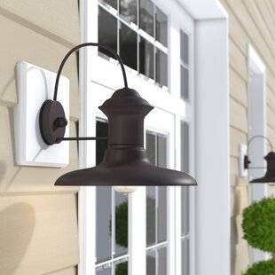 Affordable Sayers Outdoor Barn Light By Beachcrest Home